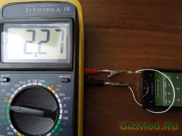 Делаем простой детектор СВЧ-поля