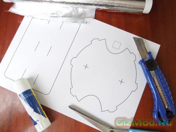 Самодельная Wi-Fi антенна из бумаги и фольги