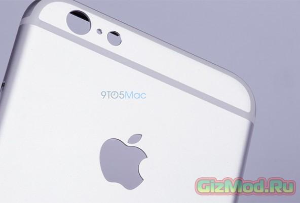 Корпус iPhone 6S засветился на фото