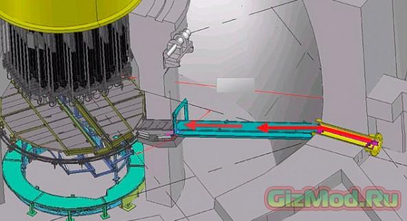 Робот-скорпион изучит реактор АЭС «Фукусима»