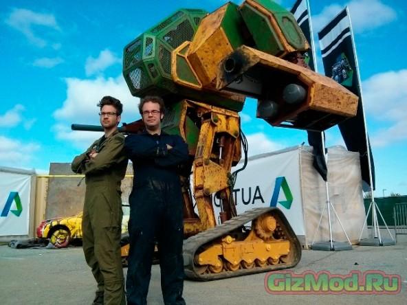 Дуэли между гигантскими роботами быть