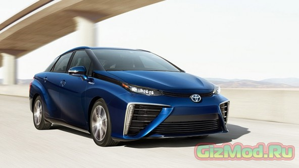 ������ Toyota Mirai ���� �� ������� ������