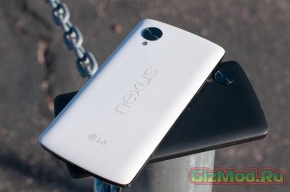 "Nexus 5 бьет рекорды еще не ""родившись"""
