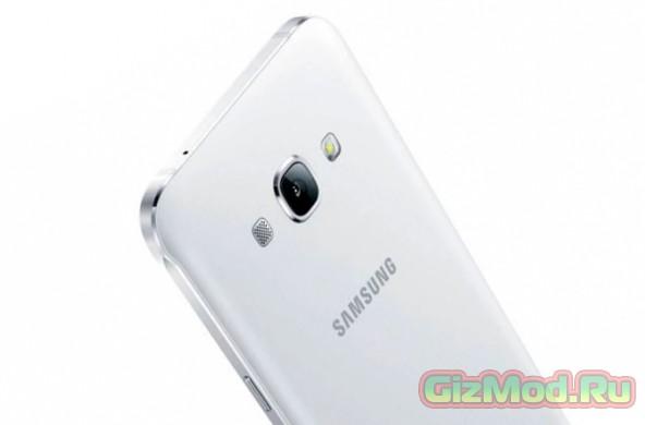 Samsung Galaxy A8 — тонкий смартфон