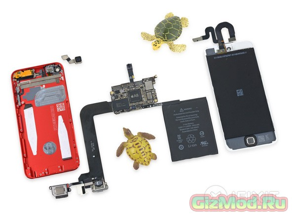 iFixit препарировали новый iPod touch