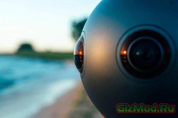 Камера для съемок фильмов для виртуальной реальности