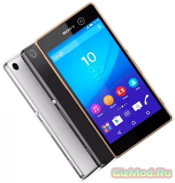 Новинки Sony Xperia M5 и Xperia C5 Ultra