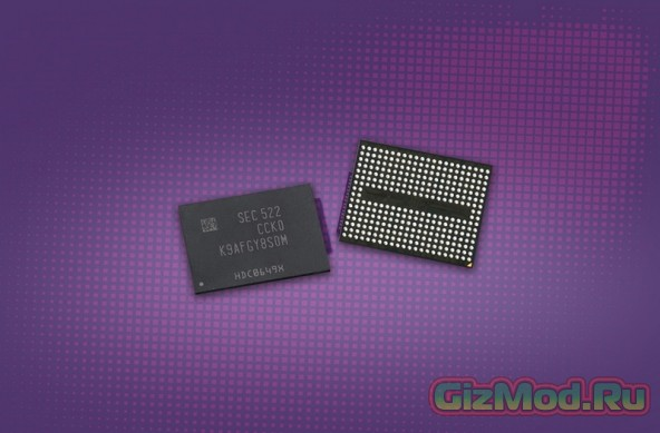 Первая 3D V-NAND память сошла с конвеера