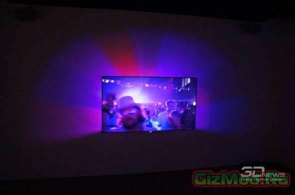 Philips AmbiLux TV - телевизор с проектором