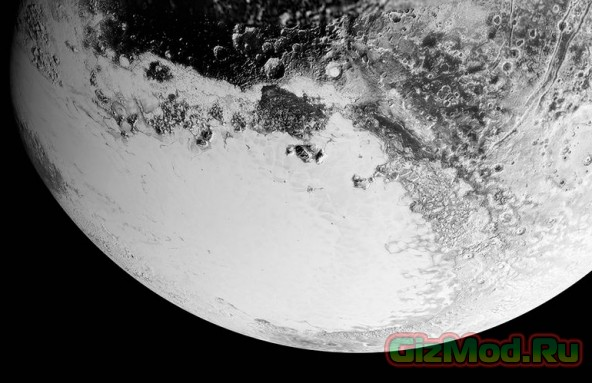 Новые фотографии Плутона