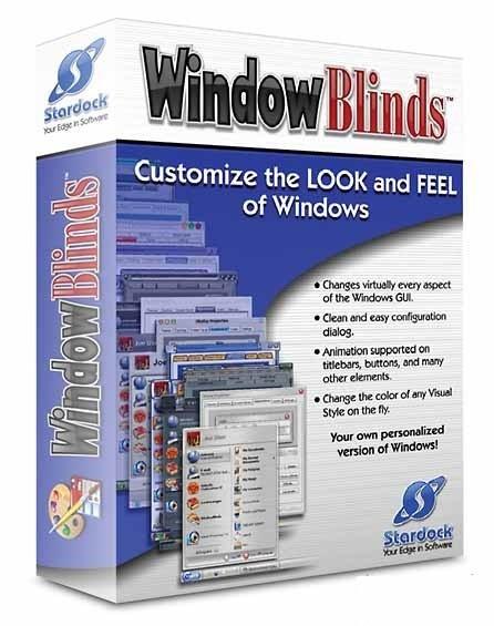 WindowBlinds 8.13 - креативный интеофейс Windows