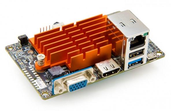 Плата с интегрированным процессором LIVA BAT-MINI