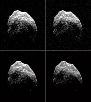 Хеллоуинский астероид