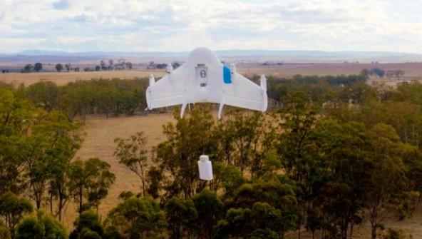 Доставка грузов дронами от Google будет запущена 2017 году
