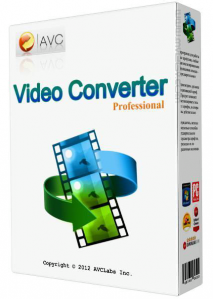 Any Video Converter Free 5.8.6 - бесплатный конвертер