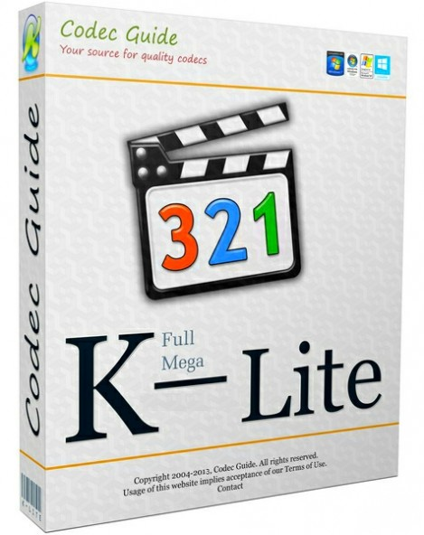 K-Lite Codec Pack 11.6.9 Beta - ������ ������ ��� Windows