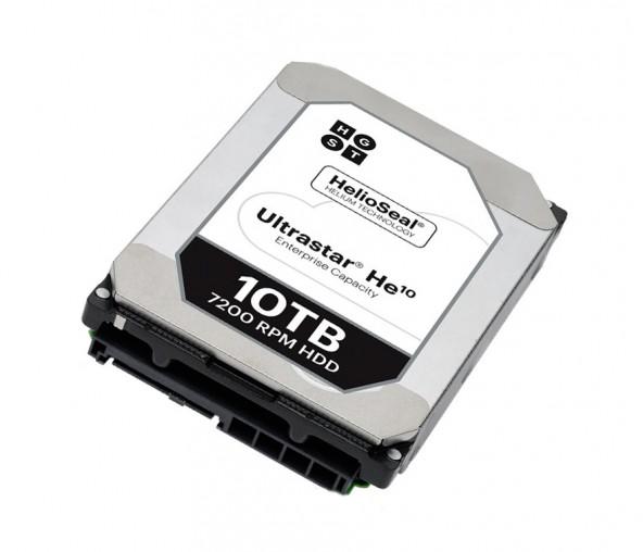 Начались поставки жестких дисков Ultrastar He10