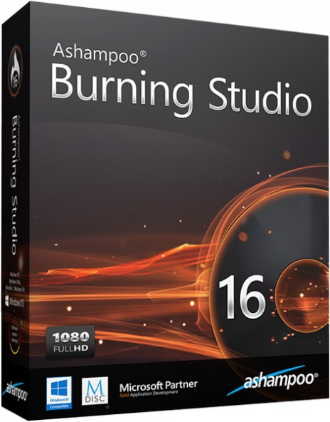Ashampoo Burning Studio 16.0.4 - ���������� ����� ��� ������ ������
