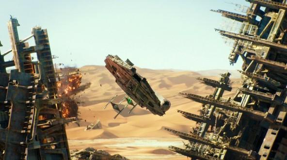 """Спецэффекты для """"Звездные войны: Пробуждение силы"""""""