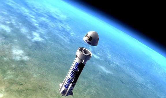 "Blue Origin успешно запустила ""БУ"" ракету"