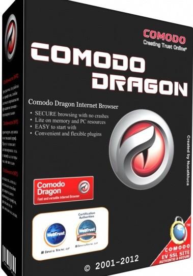 Comodo Dragon 48.12.18.243 - браузер с повышенной защищенностью