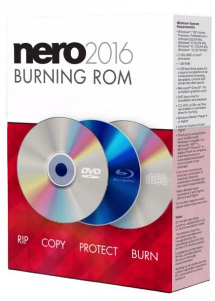 Nero 17.0.04100 - бесплатная весия популярной утилиты
