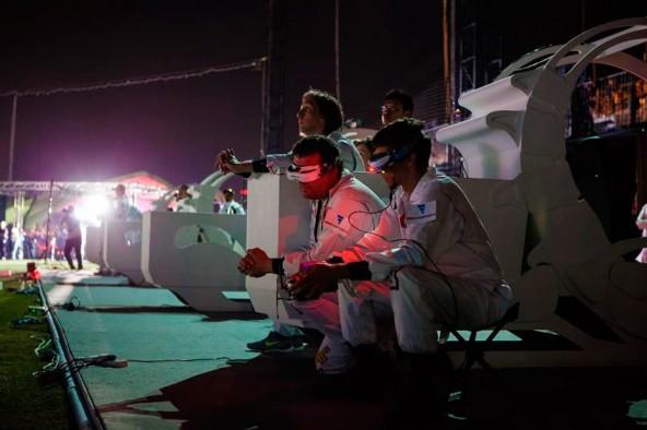 Россия заняла третье место на гонках дронов