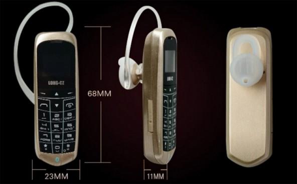 Long-CZ J8 -  самый маленький телефон
