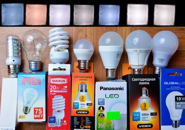 Тестируем Китайско-украинские LED лампы