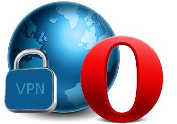������� Opera ������ � VPN �����������