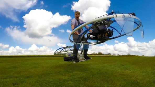 Самодельный летающий мотоцикл