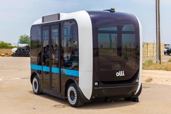Беспилотный автобус Olli