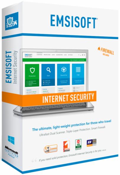 Emsisoft Internet Security 12.0.0.6844 - отлично удаляет червей и трояны