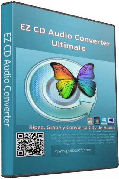 EZ CD Audio Converter 5.0.3 - приятный аудио конвертер