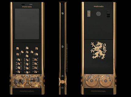 Золотой телефон Mobiado Professional 105GMT Gold