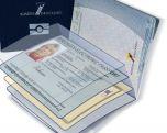 Электронный паспорт с OLED-дисплеем