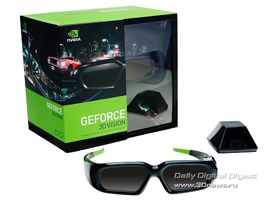 NVIDIA, GeForce, 3D Vision