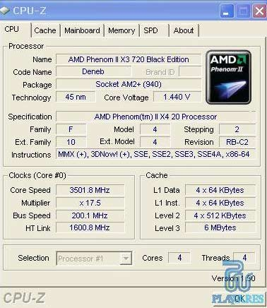 AMD, Phenom II X3 710, X4 910