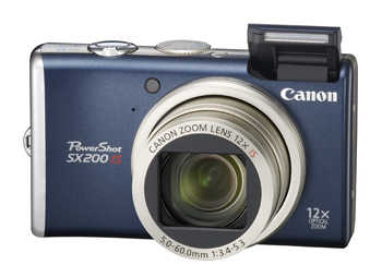 Canon, PowerShot, SX1 IS, SX200 IS
