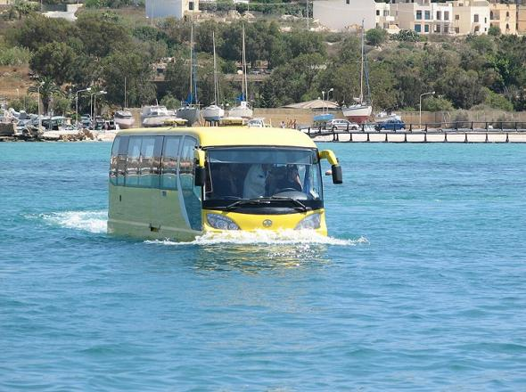 Автобус, Амфибия