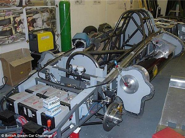 Паровой автомобиль установил рекорд скорости