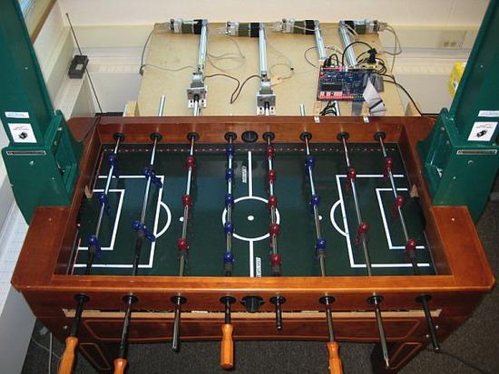 Робот, Настольный футбол