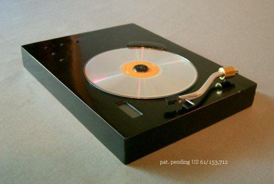 CD, Проигрыватель