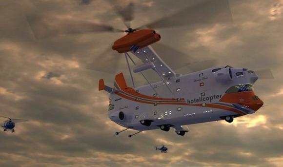Hotelicopter, Вертолет