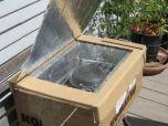 Экологичная печь из картонных коробок