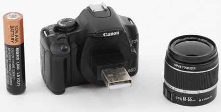 USB, Флешка, Canon
