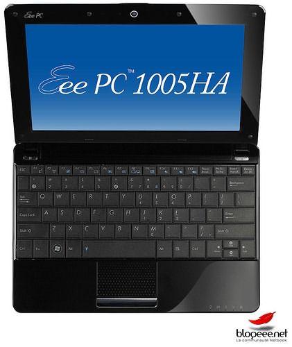 представлены модели нетбуков EeePC 1005HA-M, H-1005HA EeePC и 1008HA