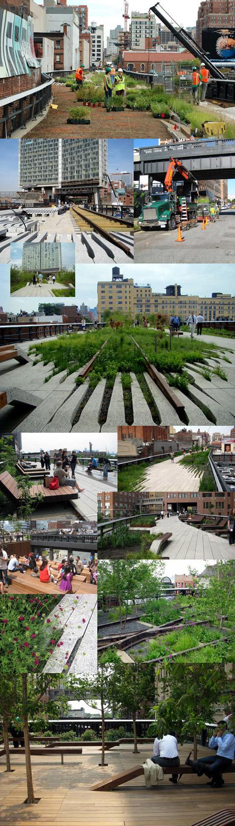 High Line, Парк