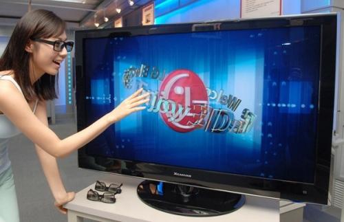 3D-телевизор LG 47LH50