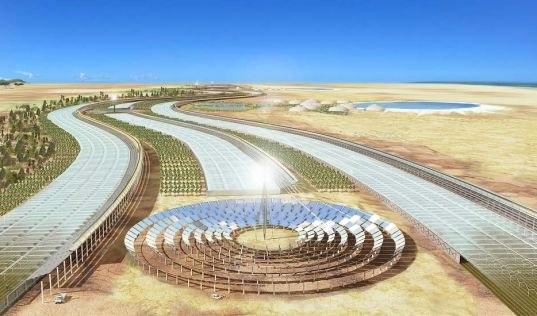 В Сахаре соорудят гигантскую солнечную электростанцию